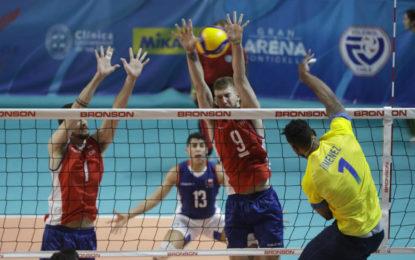 Colombia quedó afuera del voleibol Olímpico