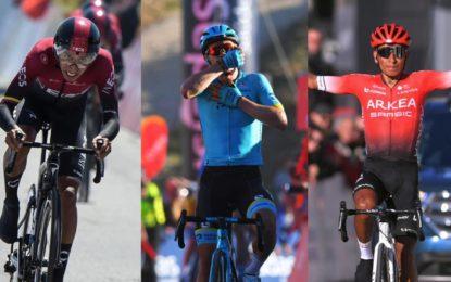 Colombia ascendió al tercer lugar del Ranking UCI