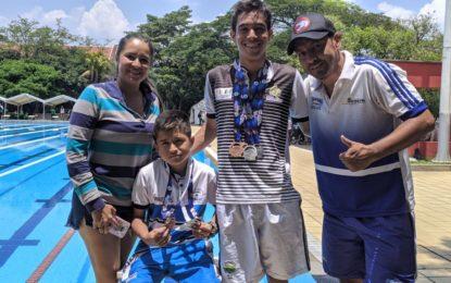 Nadadores casanareños obtuvieron 7 medallas en Cali