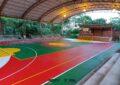 Comunidad rural cuenta ahora con un mejor escenario deportivo