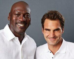 Jordan uno de los grandes ídolos de Federer