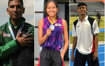 Tres casanareños convocados a la Preselección Colombia de Atletismo