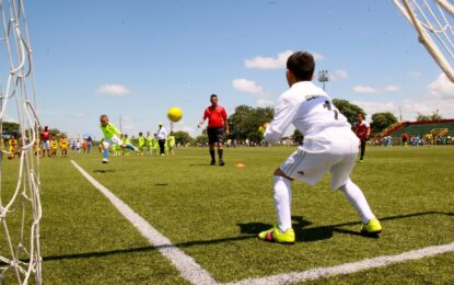 Plan piloto con Selección Infantil para el retorno del fútbol a Yopal y Casanare
