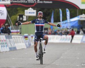 Francés Julian Alaphilippe cumplió el sueño de coronarse Campeón del Mundo