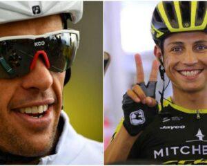 Colombianos listos para iniciar la Vuelta a España