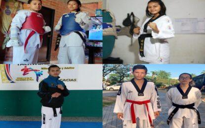 6 metenses llamados a Preselección Colombia de Taekwondo