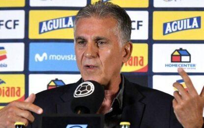Queiroz hablo sobre Ecuador y se mostró indignado con el arbitraje del partido con Uruguay