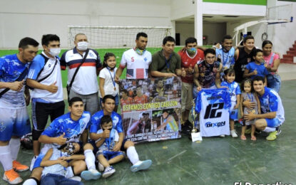 Campeones del Torneo 20 horas de Fútbol de Salón en Yopal