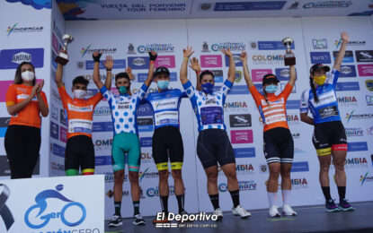 Primeros ganadores de la Vuelta del Porvenir y el Tour Femenino Casanare 2020