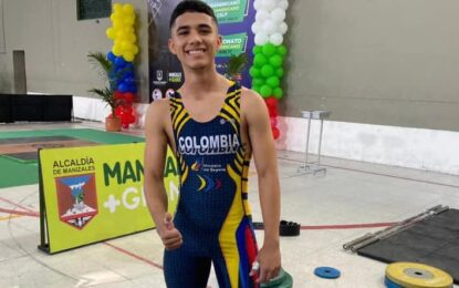 Metense gana 6 medallas de oro en Suramericano y Panamericano de Levantamiento de Pesa