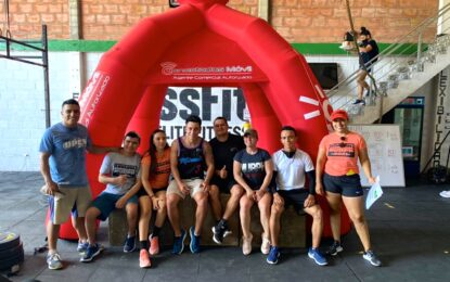La comunidad del Crossfit se reunió en Aguazul
