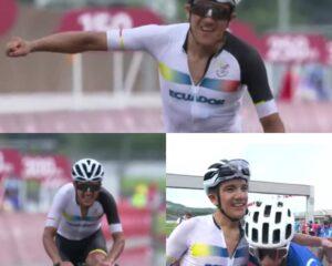 Carapaz hace historia en el ciclismo Olímpico