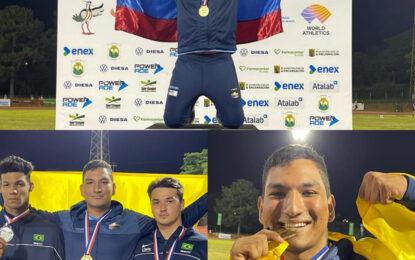 Atleta casanareño Campeón Suramericano en Paraguay